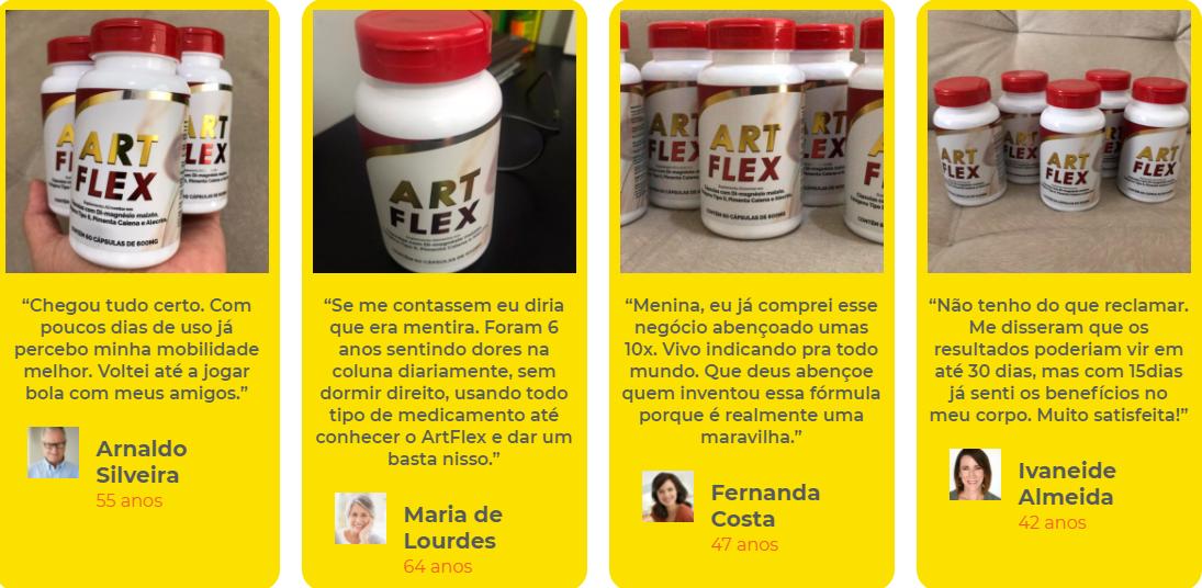 Artflex Caps composição