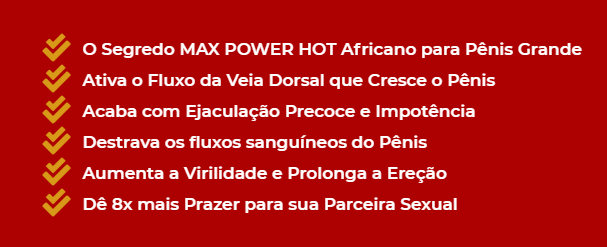 max power hot funciona