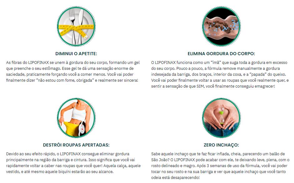 Lipofinax depoimentos