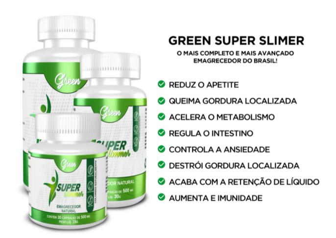 Super Green Slimmer composição