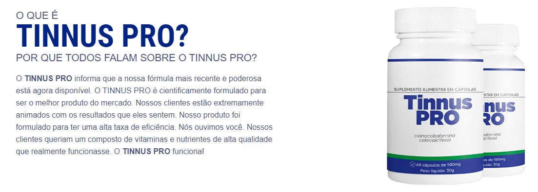 tinnus pro funciona